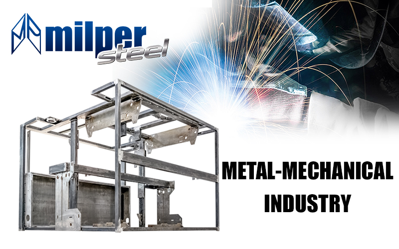 METAL-MECHANICAL INDUSTRY – Milper Steel : the other division of the Milper group